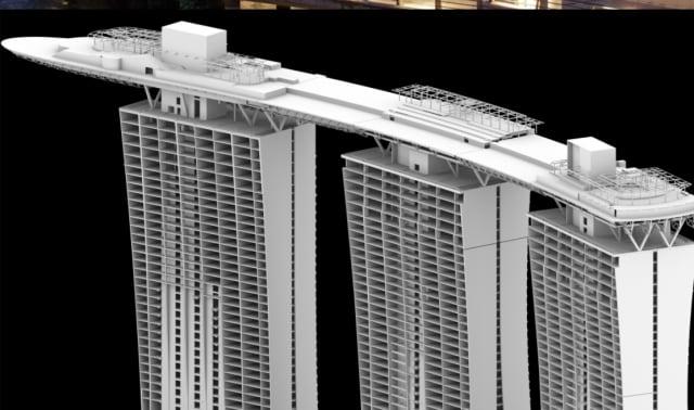 Marina Bay Sands Unique Design An Engineering Marvel