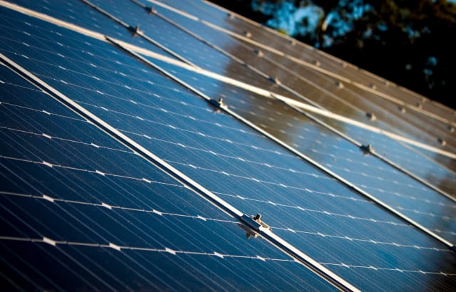 Solar panels may soon evolve to be more cost-effective thanks to developments by Natcore Technologies. (Image courtesy of Pixabay.com.)