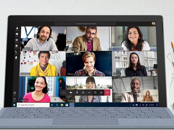 Microsoft Teams users increased by over 70 percent in April. (Image courtesy of CRN.)