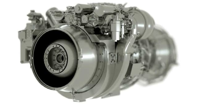 The T901 GE engine. (Image courtesy of GE.)