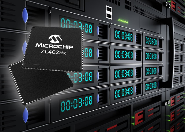 ZL4029X clock buffer. (Image courtesy of Microchip.)