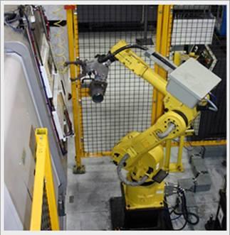 A FANUC Robotic System from PRI. (Image courtesy of PRI.)