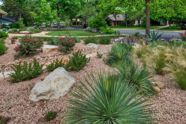 An example of xeriscaping. (Image courtesy of HGTV.)