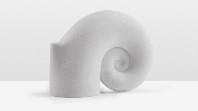 An object 3D printed with Formlabs' ceramic resin. (Image courtesy of Formlabs.)