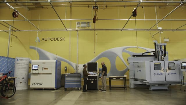 Generative design field laboratory. (Image courtesy of Autodesk.)