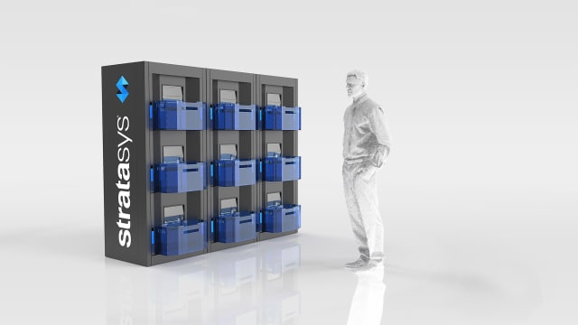 The Continuous Build 3D Demonstrator is already being used by companies like FATHOM. (Image courtesy of Stratasys.)