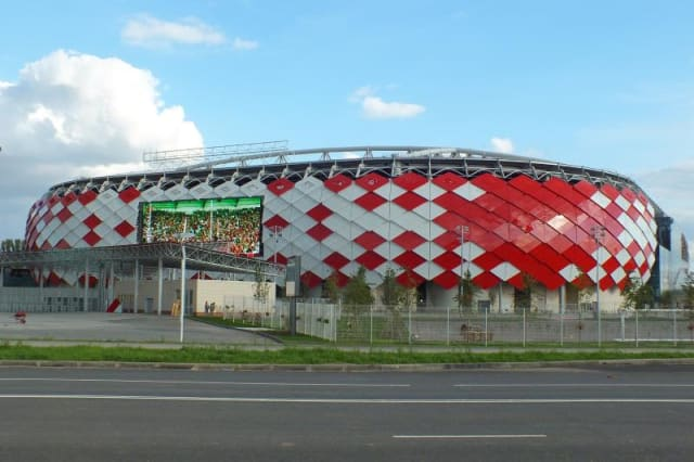 Spartak Stadium, also known as Otkritie Arena. (Image courtesy of The Stadium Guide.)