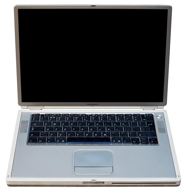 The Apple PowerBook G4 Titanium. (Image courtesy of Ashley Pomeroy.)