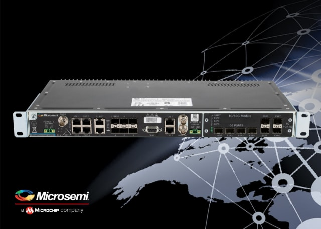TimeProvider 4100 release 2.0. (Image courtesy of Microsemi.)