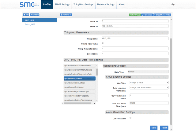 Example of the FieldServer Web-based configurator. (Image courtesy of Sierra Monitor.)