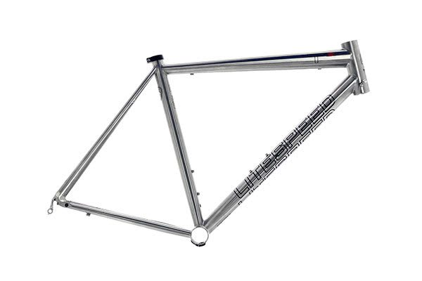 The $4,000 Litespeed T1SL frame is made of 6Al/4V titanium alloy. The small size frame weighs 995 grams. (Imagecourtesy of Litespeed.)
