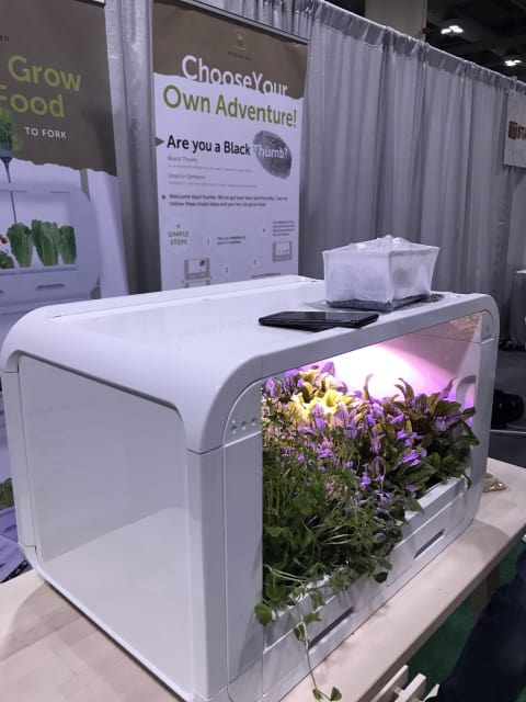Looking like an abandoned microwave overrun by nature,modgarden's tinyFarm offers another solution for cultivating your own vegetables.