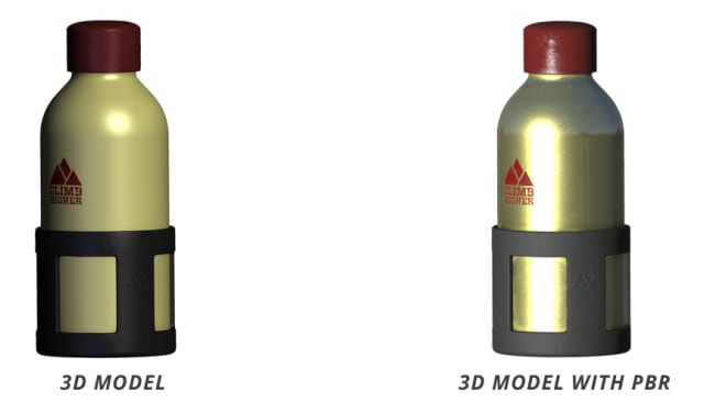Figure 2. Now with added PBR. (Image courtesy of Tech Soft 3D.)