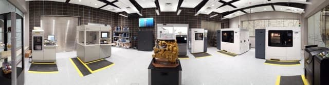 Caterpillar's Additive Manufacturing Factory. (Image courtesy of Caterpillar.)