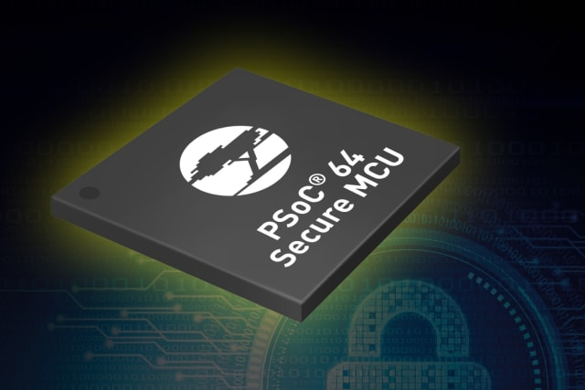 PSoC 64 MCU. (Image courtesy of Cypress Semiconductor.)