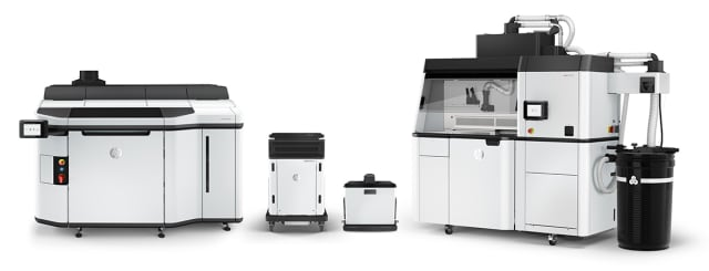 HP Jet Fusion 5200 3D Printing Solution. (Image courtesy of HP.)