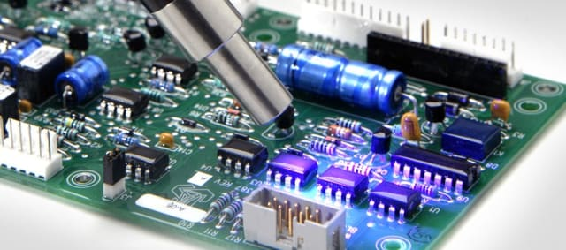 Conformal coating. (Image courtesy of Dymax.)