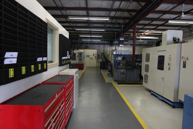 Inside K4 Machining after 60 days in business. (Image courtesy of K4 Machining.)