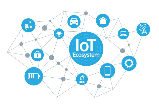 IoT Ecosystem. (Image courtesy of Medium.)