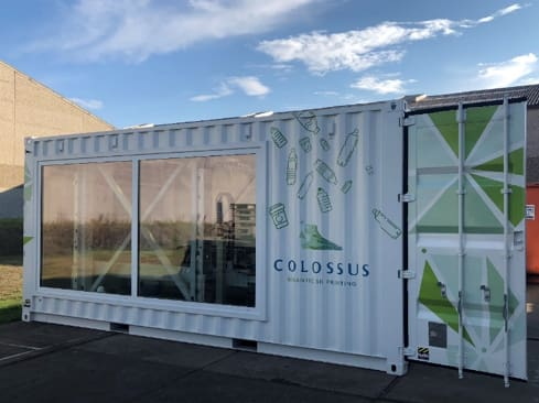 The Colossus 3D printer that Mitsubishi Chemical will display at formnext. (Image courtesy of Mitsubishi Chemical.)