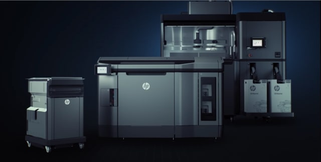 Screenshot from HP promotional video. Partners in the Additive Manufacturing Network will have access to providers of HP Jet Fusion 3D printers.