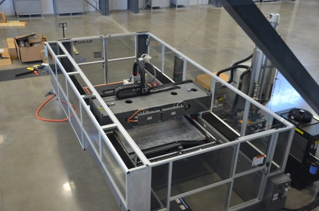 The BAAM 3D printer. (Image courtesy of Cincinnati Incorporated.)