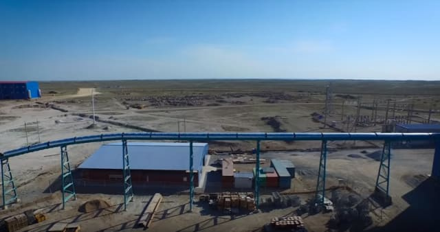 An image of the updated Pustynnoe Gold Plant. (Image courtesy of AAEngineering Group.)