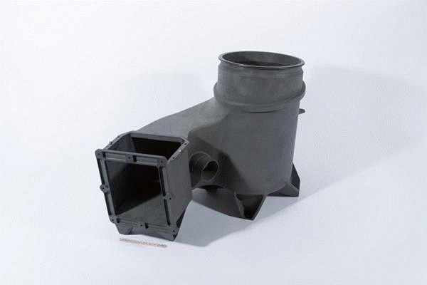 An OXFAB Complex Structural Component 3D-printed by OPM for the Boeing CST-100 Starliner. (Image courtesy of OPM.)
