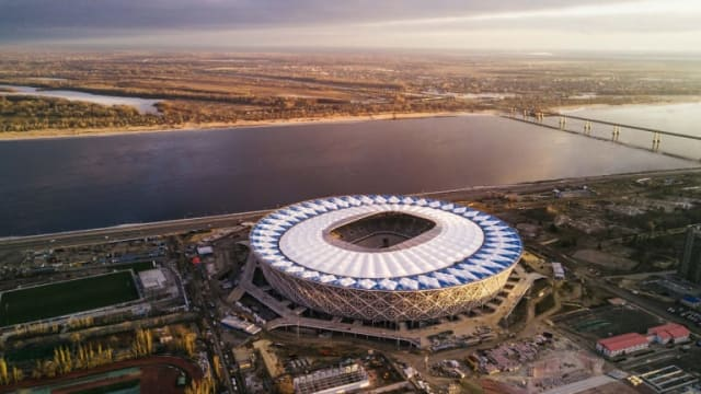 The Volgograd Arena. (Image courtesy of FIFA.)