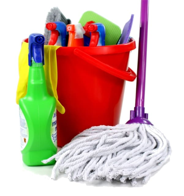 It's important that everyone knows which cleaning materials to use, especially if there is a risk of damaging equipment.