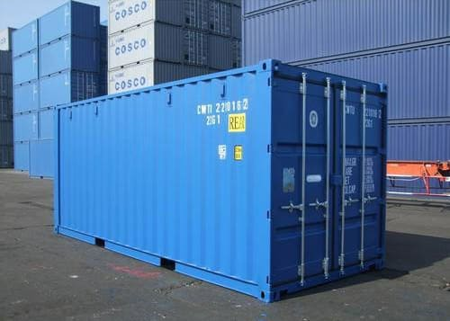 By standardizing the industry through the introduction of the Intermodal shipping container (ISO shipping container), many previous issues with end-to-end shipping, storage and transportation were addressed and optimized for transcontinental shipping. (Image courtesy of indiamart.com.)