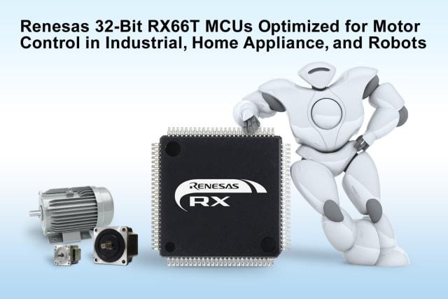 RX66T MCU. (Image courtesy of Renesas Electronics.)