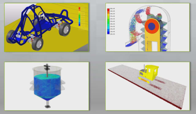 The tools enable accurate simulation of off-road vehicles, conveyors, material storage facilities and heavy equipment.