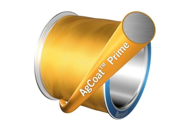 AgCoat Prime bonding wire. (Image courtesy of Heraeus Electronics.)