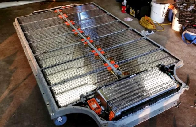 Li-Ion battery pack for a Tesla Model S. (Image courtesy of qnovo.com.)