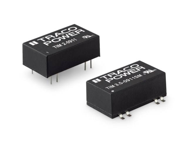 TIM 2 and TIM 3.5 series of converters. (Image courtesy of RS Components.)