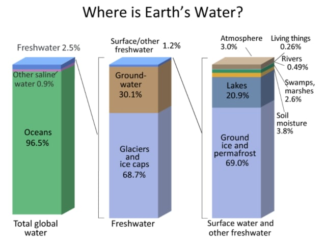 From A Guide to the World's Fresh Water Resources by Igor Shiklomanov, 1993. (Image courtesy of USGS.gov.)