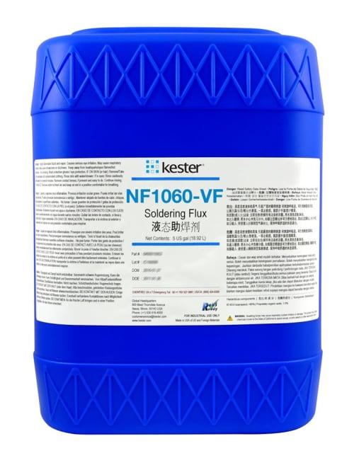 Kester NF1060-VF soldering flux. (Image courtesy of Kester.)