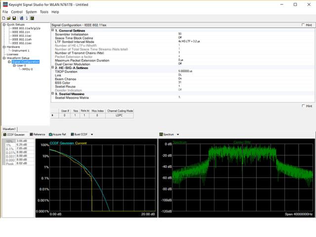Signal Studio software. (Image courtesy of Keysight Technologies.)