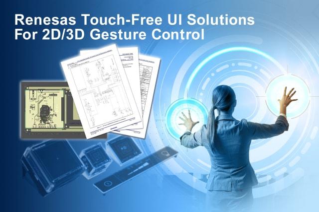 Touch-free UI system. (Image courtesy of Renesas Electronics.)