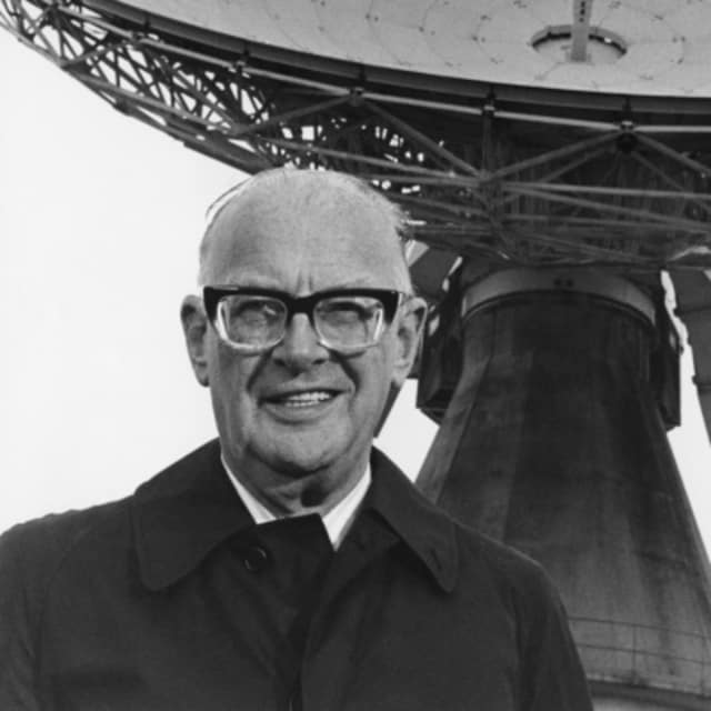 Arthur C. Clarke, renowned sci-fi writer, also was an ace mathematician and the first to have espoused a geosynchronous orbit. (Image courtesy of Wikipedia.)