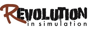 The RevolutionInSimulation logo. (Image courtesy of RevolutionInSimulation.org.)