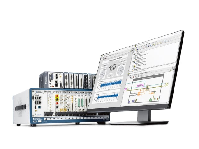 LabVIEW 2018 software. (Image courtesy of National Instruments.)