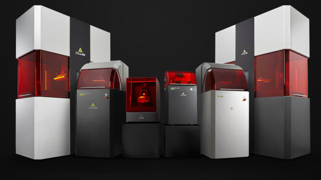 DWS manufactures a range of stereolithography systems, including the $5,000 XFAB 3D printer. (Image courtesy of DWS.)