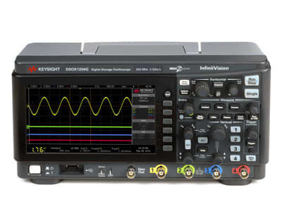 InfiniiVision 1000 X-Series oscilloscope. (Image courtesy of Keysight Technologies.)