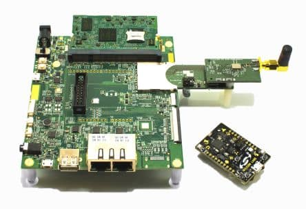 UrsaLeo UL-NXP1S2R2 kit. (Image courtesy of RS Components.)