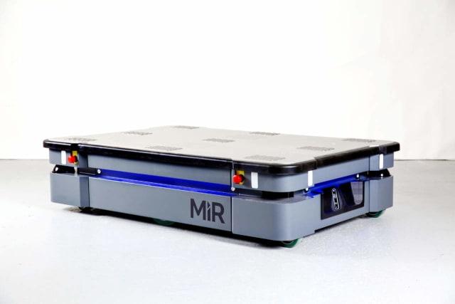 MiR500 autonomous mobile robot. (Image courtesy of Mobile Industrial Robots.)