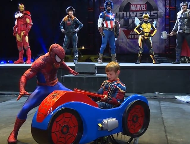 How cool am I? A Magic Wheelchair is a flight of fancy, transforming a kid's wheelchair into a rolling costume. (Image courtesy of Dassault Systèmes video.)