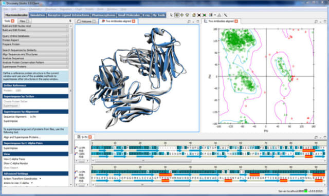 Example of visualization in BIOVIA Discovery Studio. ( Image courtesy of Dassault Systèmes.)