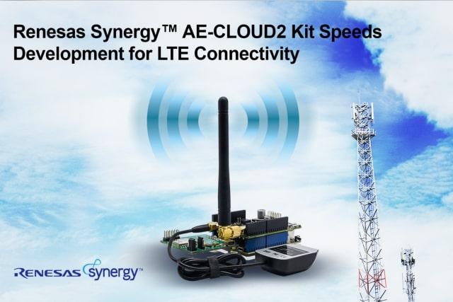 AE-CLOUD2 development kit. (Image courtesy of Renesas.)